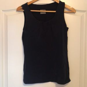 Merona dark blue sleeveless top